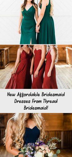 Light blue boho style affordable dresses for bridesmaids from Thread Bridesmaid! #bridesmaids #bridesmaid #bridesmaiddresses #BridesmaidDressesLace #CheapBridesmaidDresses #ModestBridesmaidDresses #BridesmaidDressesTeaLength #BridesmaidDressesPlusSize