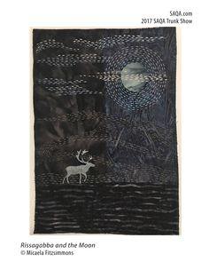 Art quilt by Micaela Fitzsimmons