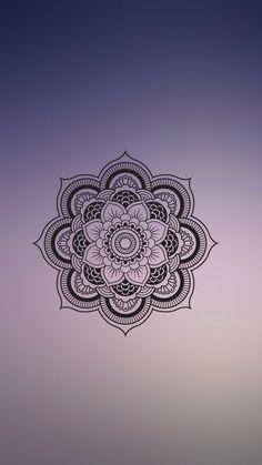 Imagem de mandala, wallpaper, and blur