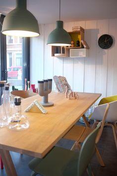 Design District Leuven  Split table muuto - Unfold muuto