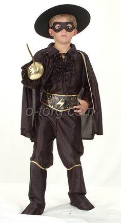 Карнавальный костюм Зорро арт. 87029