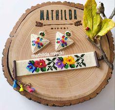 Beaded Jewelry Patterns, Macrame Patterns, Hama Beads, Seed Beads, Bead Loom Bracelets, Peyote Beading, Bead Jewellery, Beading Projects, Gemstones