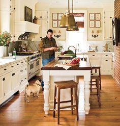 Clean Kitchen < 25 Classic White Kitchens - MyHomeIdeas.com