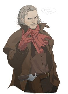 Metal Gear Fan Art - Revolver Ocelot