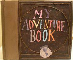 Handmade Disneys Up My Adventure Book. $50.00, via Etsy.