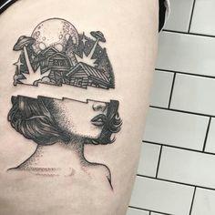 Alex Odisy Resident at Parliament Tattoo, London. on insta Dream Tattoos, Time Tattoos, Body Art Tattoos, New Tattoos, Sleeve Tattoos, Cool Tattoos, Tatoos, Pretty Tattoos, Unique Tattoos