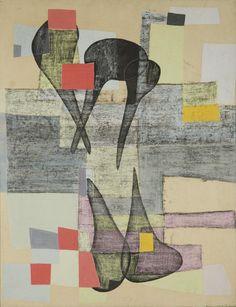 "thirdorgan: ""Maria Jarema (Poland, 1908 - 1958) Formy 1957 """