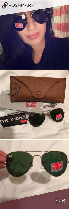 ray ban glasses quality  ray ban sunglasses not authentic but brand new and very high quality ray ban gold with