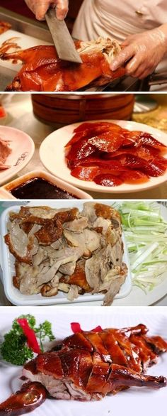 As a royal dish, Beijing Roast Duck is one of the most prestigious dishes in China. Crispy roast duck skin, color Hongyan, fresh meat, sweet but not greasy, is a must not miss the delicious. Crunchy skin, tender meat, with dough, with super-sweet sauce, and quickly roll one, enjoy the delicious bar!