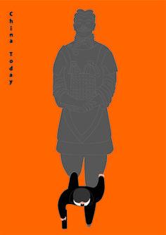 Cool graphic.  China Today   -  Yang Liu Design