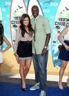 Khloe + Lamar // 2010 Teen Choice Awards