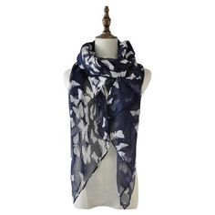 Butterfly Beauty Navy Versatile and lightweight, this butterfly scarf is a definite winner. Ladies Scarves, Womens Scarves, Butterfly Scarf, Fig, Special Gifts, Navy, Beauty, Collection, Products