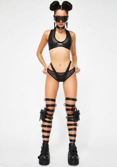 Club Exx Fishnet Panties Bottoms Layered   Dolls Kill Cyberpunk Mode, Cyberpunk Fashion, Fashion Poses, Fashion Outfits, Womens Fashion, Chica Punk, Figure Poses, Rave Wear, Future Fashion