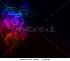 abstract glowing background,eps10 format by d_arts, via ShutterStock