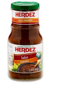 SALSA TAQUERA:  This traditional Mexican salsa is the perfect addition for tacos, burritos and more. Its smoky, tangy-hot flavor comes from the combination of tomatillos and morita peppers, giving it the familiar flavor you'll find in taquerías and dinner tables all over Mexico.