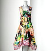 Simply Vera Vera Wang Splatter Satin Dress- Shopping Spree @ Kohl's!!