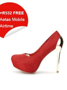 Red Glossy Textured High Heels Stiletto Heels, High Heels, Red, Stuff To Buy, Shoes, Women, Fashion, Moda, Zapatos