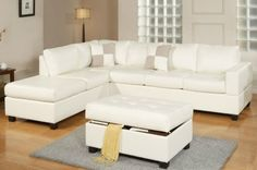 Tips That Help You Get The Best Leather Sofa Deal. Leather sofas and leather couch sets are available in a diversity of colors and styles. A leather couch is the ideal way to improve a space's design and th Cream Leather Sectional, 3 Piece Sectional Sofa, Sofa Couch, Chaise Sofa, Sofa Set, Leather Sofa, Bonded Leather, Leather Lounge, Modern Sectional