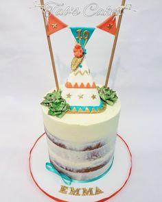 Bohemian Teepee Cake