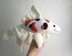 """a koi plushie, riza would adore this =D i'd be hearing """"a tiny fish"""" all day haha"""
