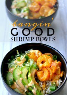 Bangin' good shrimp bowls. If you like Bonefish Grills bang bang ...