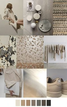 F/W 2018 women's pattern & colors trend: neutral ground