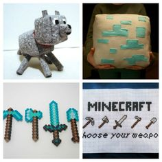 Craft with Minecraft! Check out these 20 Etsy Finds! | Babble