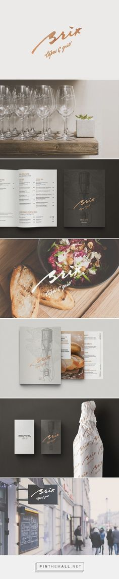 Brix Tapas Grill Branding by The Nineteen | Fivestar Branding Agency – Design and Branding Agency & Inspiration Gallery