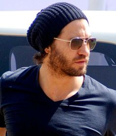 Edgar Ramirez ... There's just something about beards and beanies❤️
