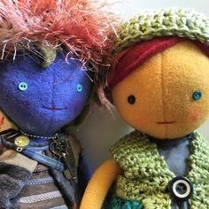 ISTJ, ENFP; dolls with personality... #customdolls #customtoys #handmadetoys