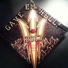 Arizona State Graduation Cap Decoration ~ ASU~ Congratulations to my ... 2e678307d0b4