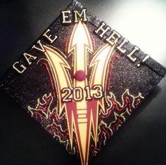CA Skills on my graduation cap! ASU