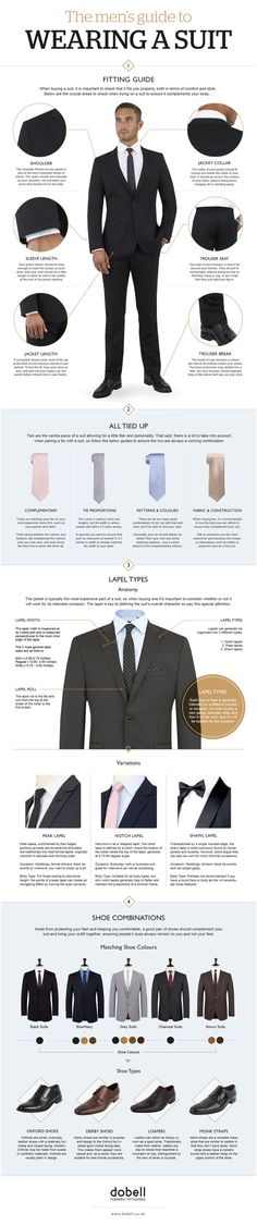 How to wear a suit like a big kid. LOL some of these tips people don't know so it is worth a look. A suit can make you look superior to the rest of your colleagues. They add so much splendor to your dashing personality. Just take a look at these tips. Fashion Mode, Suit Fashion, Look Fashion, Fashion Menswear, Fashion Check, Trendy Fashion, Trendy Clothing, Trendy Style, Fashion Styles
