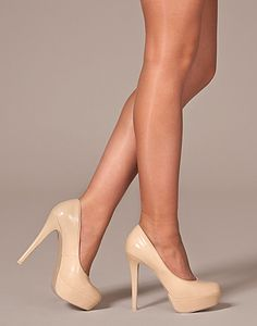 Every women needs a pair of nude pumps in their lives.