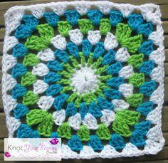 Knot Your Nana's Crochet: Granny Square CAL (Week 22)
