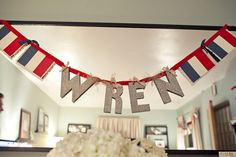 French Themed Baby Shower-even love the name in silver