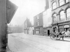 Bow Street, later became West Street Sheffield #socialsheffield
