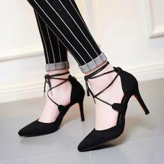 Do you like it? . . . . . . . . . . Ins Amazing #shoes #womenshoes #pumps #blackheels #suedeshoes #summershoes #stilettoshoes #partyshoes #blacksuede #fashion #strappy #luxury #higheels #instashoes #footwear #highheels #fashionaddict #Heelsaddict #shoesblogger #fashionlover #styleoftheday #streetstyle #outfit #outfitoftheday #styleblogger #womensweardaily