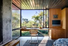 Napa Valley House / Steven Harris Architects @stevenharrisarc @eunesc1 #homeoffice #window #view