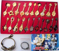 Fairy Tail Keychain Set FLKY0701