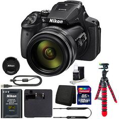 #Nikon #coolpix p900 16mp #digital camera with 32gb top accessory bundle,  View more on the LINK: 	http://www.zeppy.io/product/gb/2/322175989278/