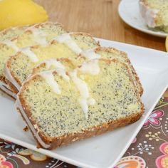 Zingy lemon poppy seed pound cake bursting with lemony flavor, crunchy poppy seeds, and drizzled with a scrumptious lemon glaze. This melt in your mouth pound cake is the perfect accompaniment for ...