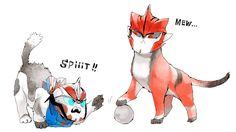 """lisoundy: """" TFP: I love cats! by Aka-hito [http://www.pixiv.net/member.php?id=4507330] """""""