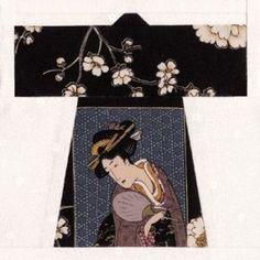 Quilt Patterns Free Quilt Patterns eQuiltPatterns.com: Japanese Haori Quilt Block