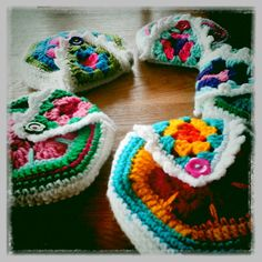 crochet girlybags