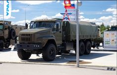 Russian new Ural military truck