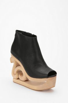 Jeffery Campbell Skate Cutout Wedge