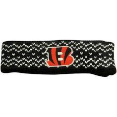 Bengals Knit Headband | Knit Headband, Knits and Products