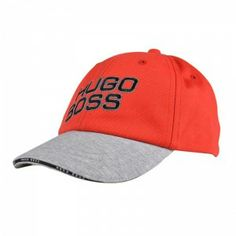 Lovely cotton cap by #HUGOBOSS with HUGO BOSS branded embroidery to front. Ideal for the summer sun. www.kidscavern.co.uk #kidscavern