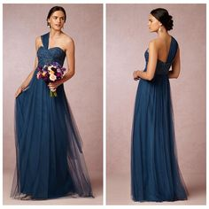 Sage Convertible Dress Bridesmaid Dress Green Tulle Removable Strap Long Sweetheart Formal Dresses Cheap 2014 BHLDN Wedding Party Dresses, $87.53 | DHgate.com